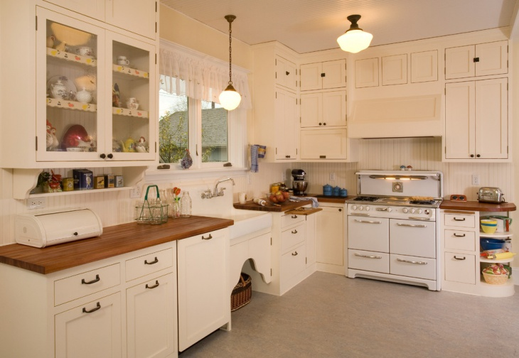 Classic Vintage Kitchen Cabinet Design