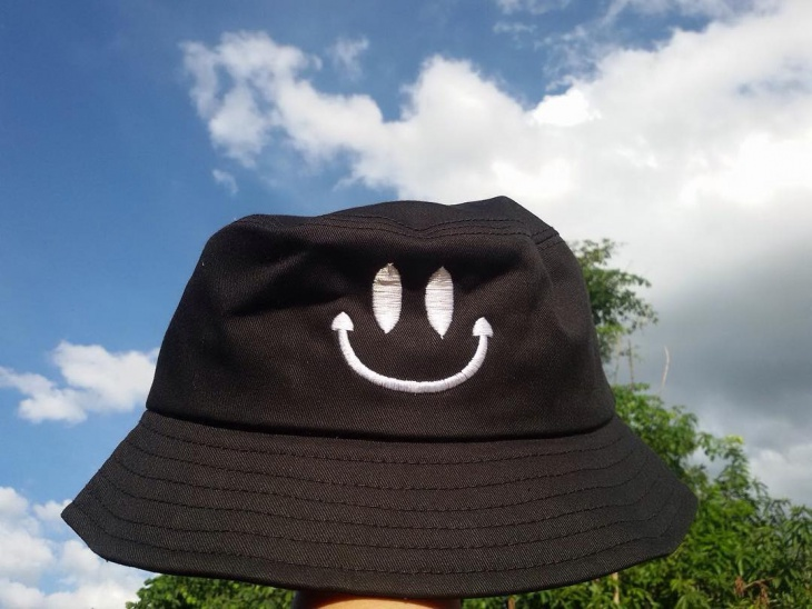 Embroidered Emoji Hat