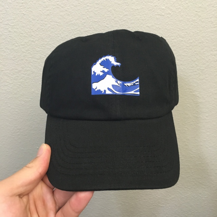 Wave Emoji Hat Design