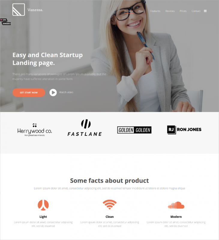 Premium Marketing Joomla Theme