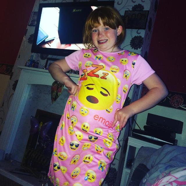 smily emoji dress