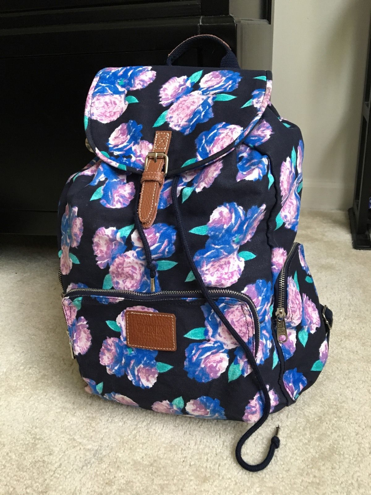 cool floral backpack