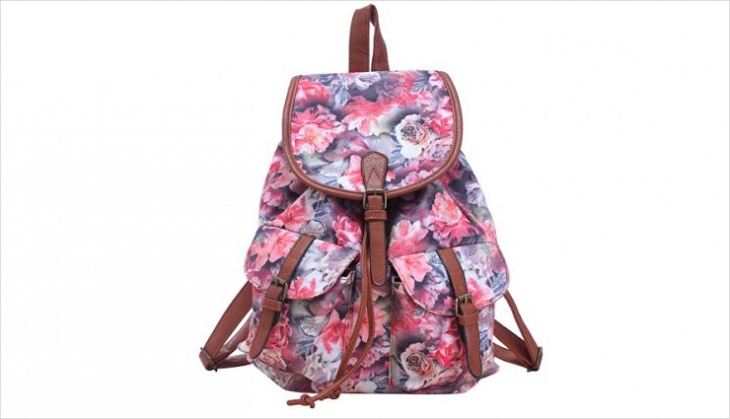 floral pattern backpack idea