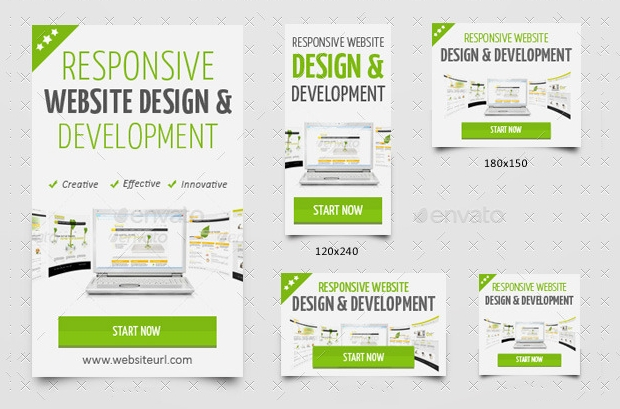 Website Development Banner Design