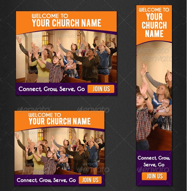 Church Web Banner Design