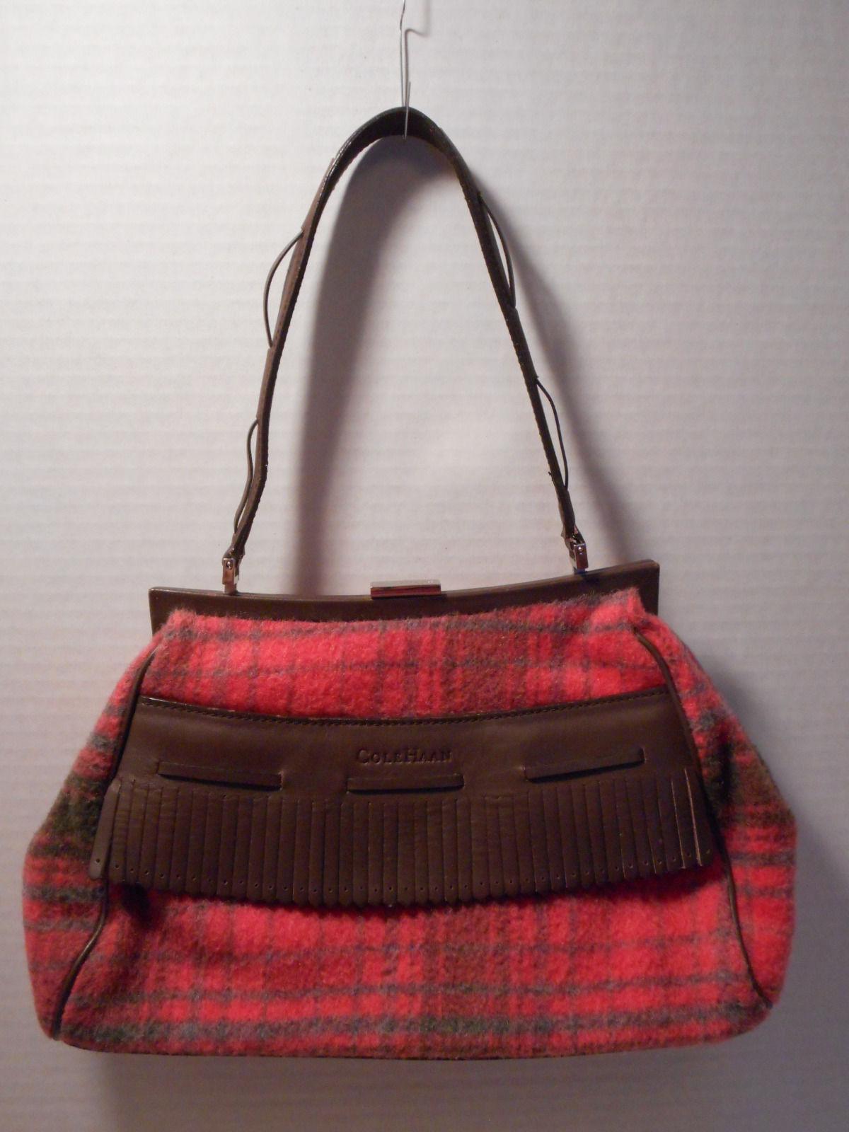 Plaid Wool Handbag Design