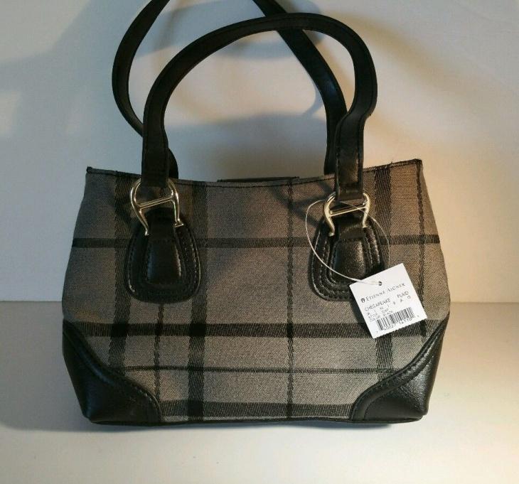 mini plaid shoulder bag