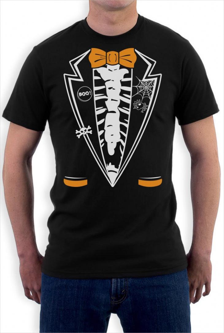 Skeleton Tuxedo T Shirt