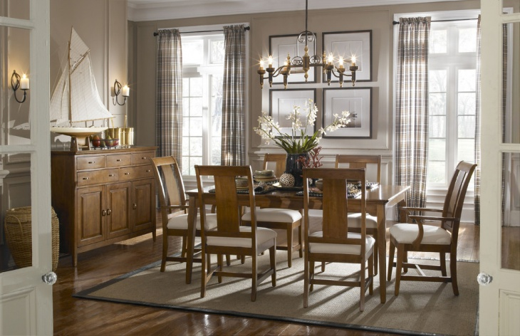 Oak Dining Room Chairs