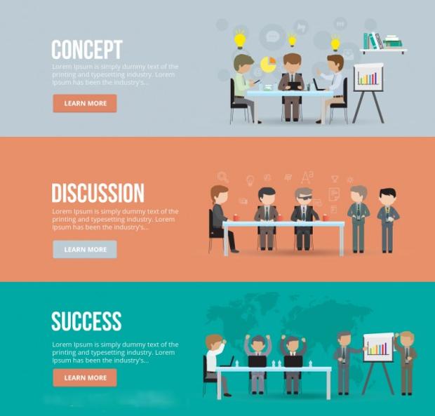 Business Meeting Banner Design