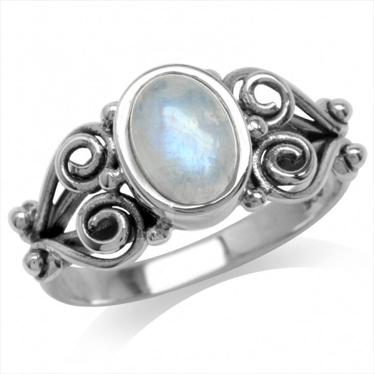 Antique Moonstone Jewelry