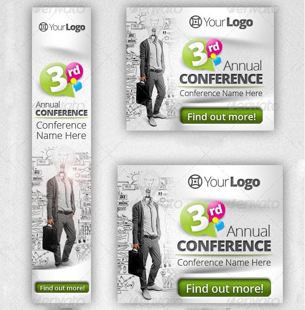 Conference Web Banner Design