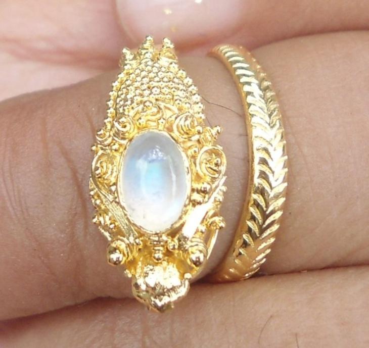 Moonstone Dragon Jewelry