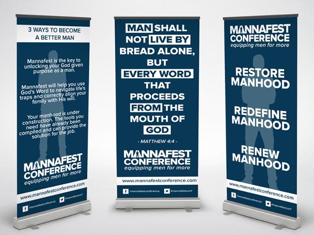 Roll up Conference Banner Design