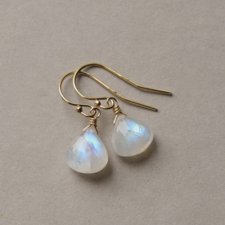Gold Moonstone Jewelry