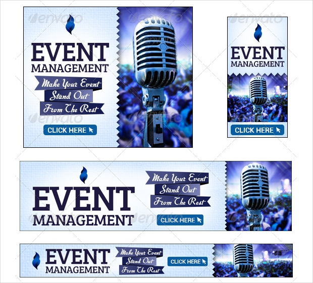 Event Management Banner Design