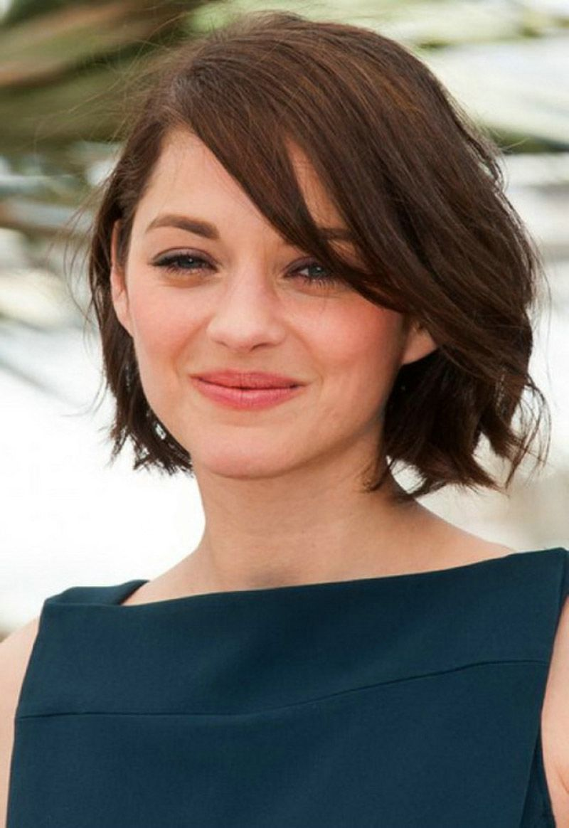 leighton meester short brunette bob hairstyle