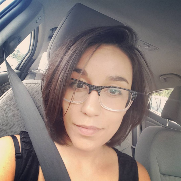 cool brunette bob hairstyle