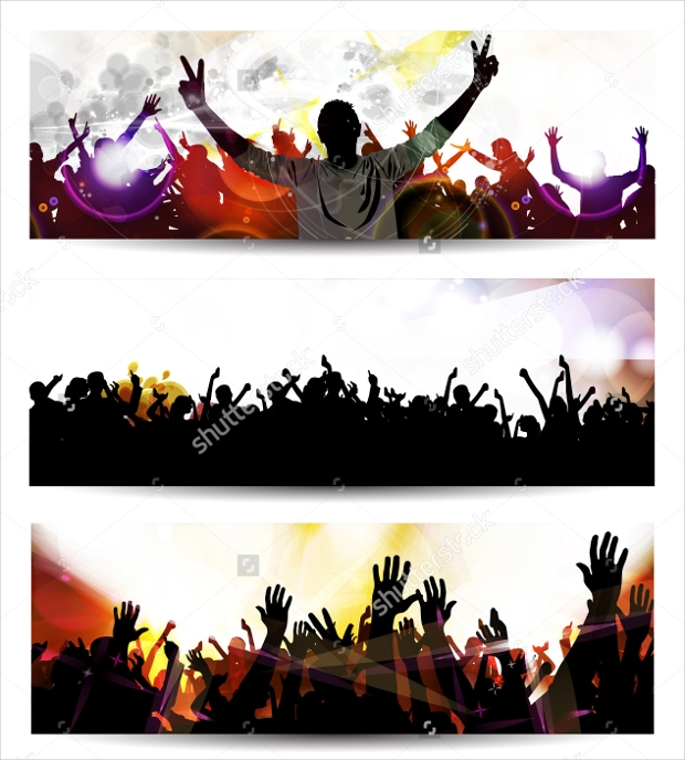 Music Event Banner Design