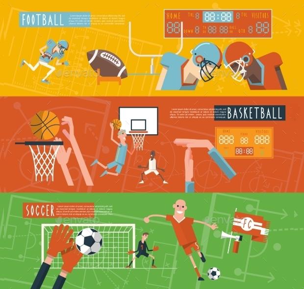 Sports Team Banner Design