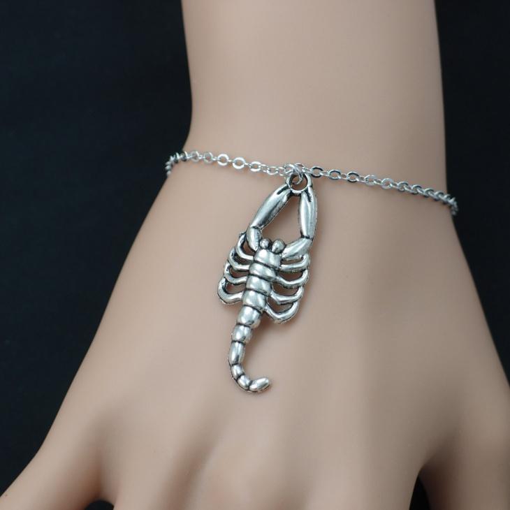 Scorpion Charm Bracelet