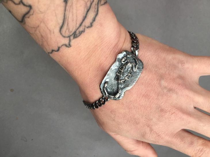 Scorpion ID Bracelet