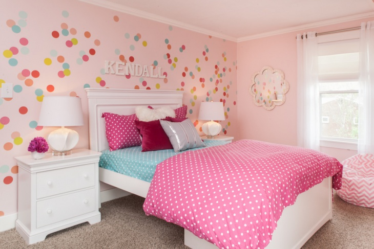 girls room paint idea