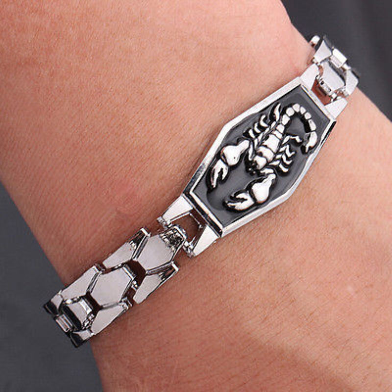 Stainless Steel Scorpion Bracelet