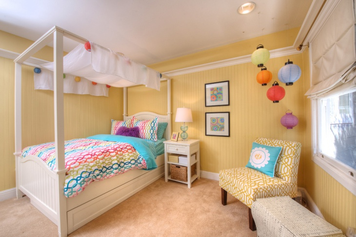 yellow bedroom color chandelier idea