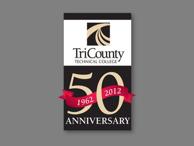 College Anniversary Banner Design