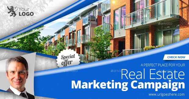 Real Estate Agent Banner Design