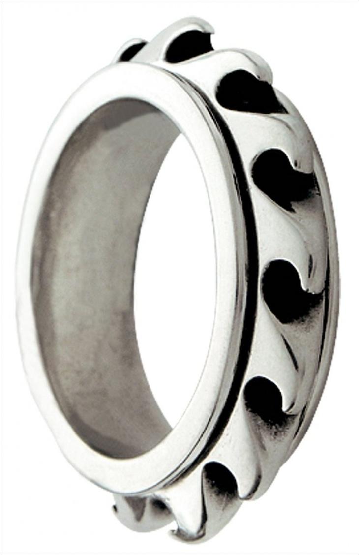 spinning wave ring design