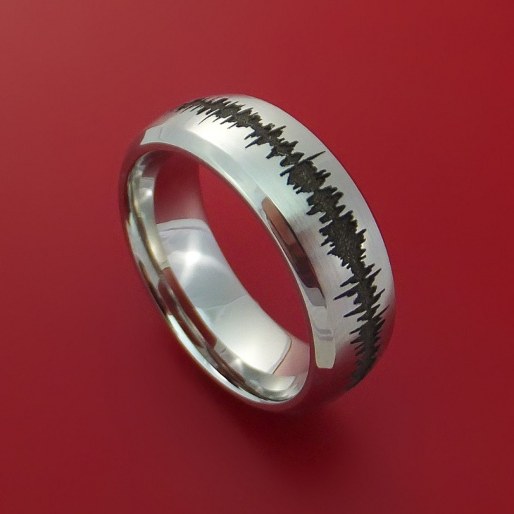 engagement wave ring