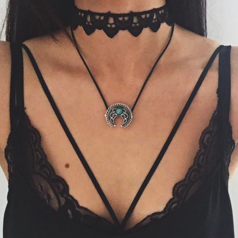 retro hippy chain jewelry