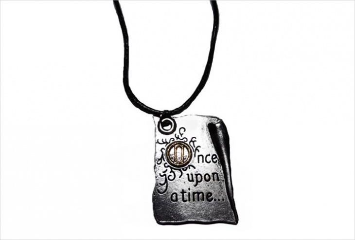 Unique Book Pendant Idea