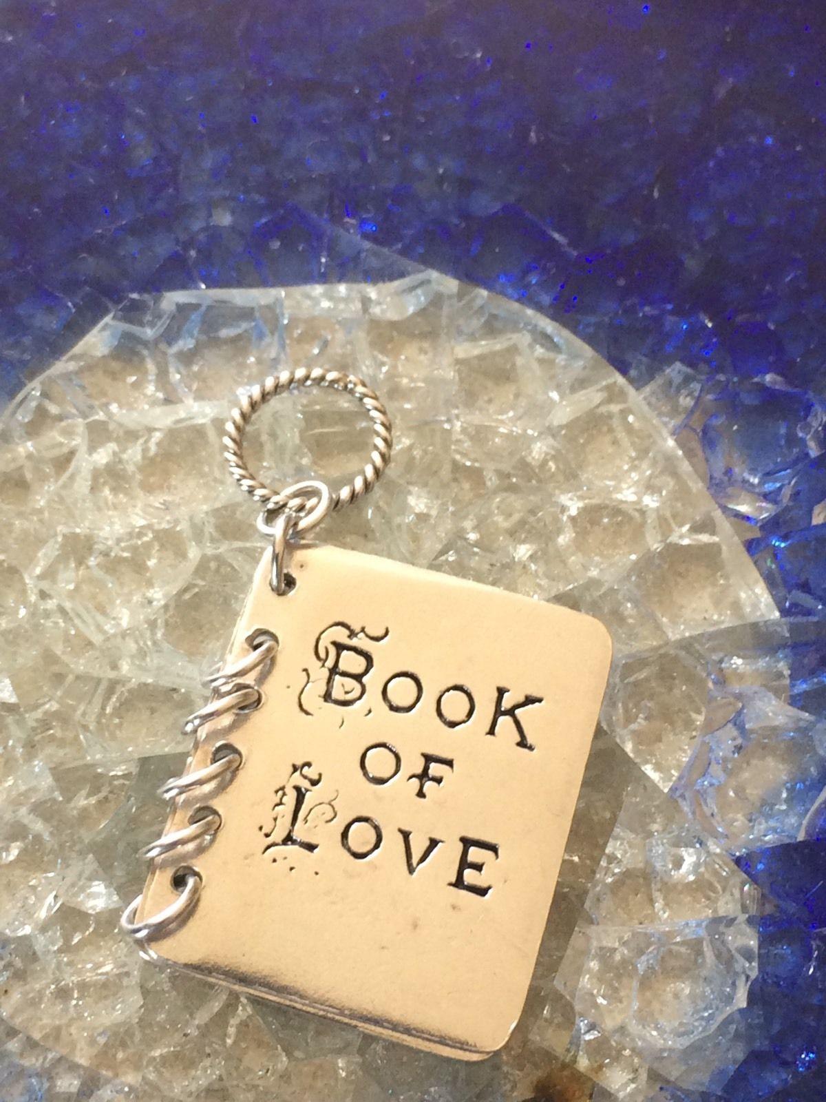 love book pendant idea