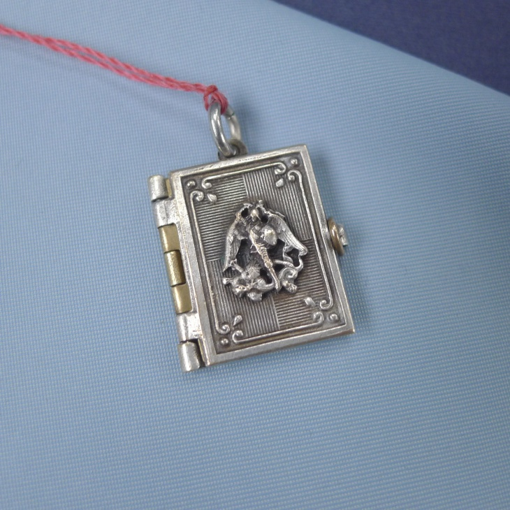 Miniature Book Pendant