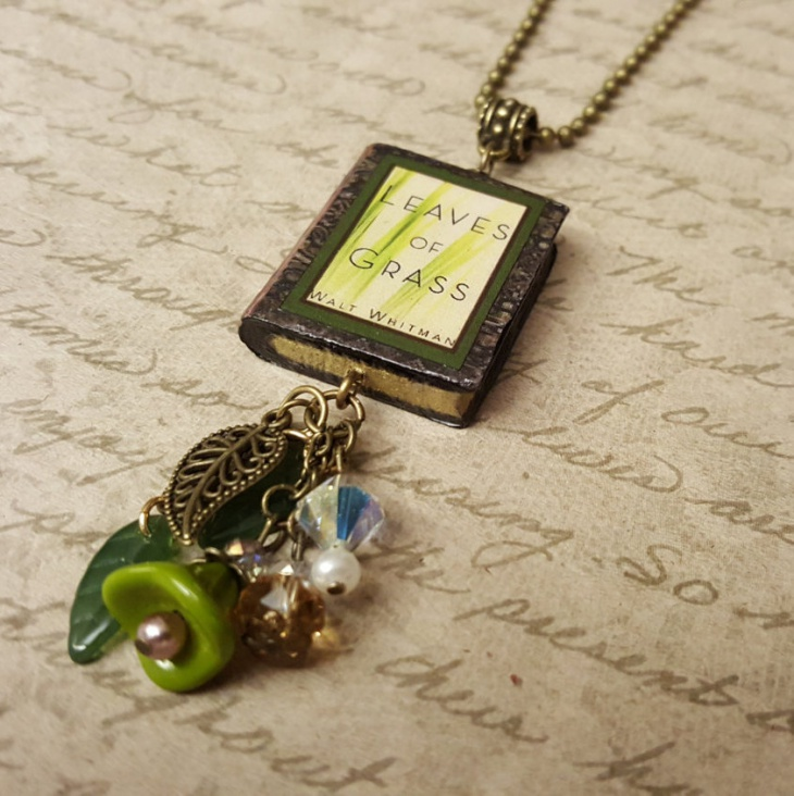 Beautiful Book Pendant Design