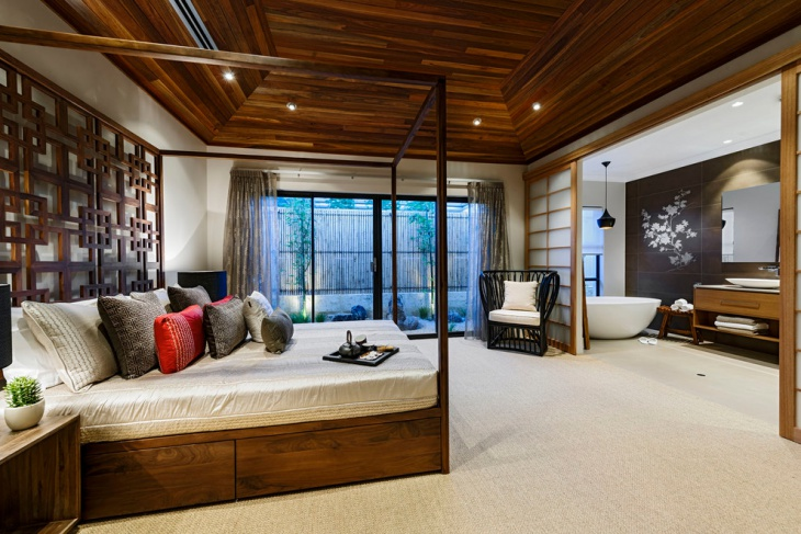 hardwood ceiling design