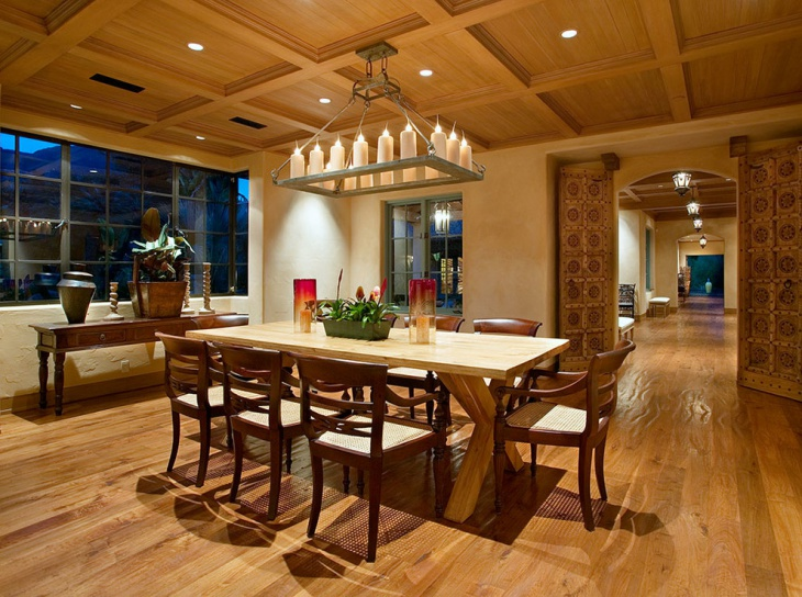 eclectic wooden ceiling ideas