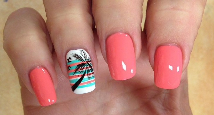 21 Palm Tree Nail Art Designs Ideas Design Trends Premium Psd