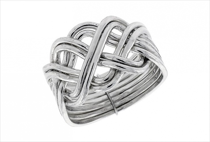 Knot Wire Wrapped Ring