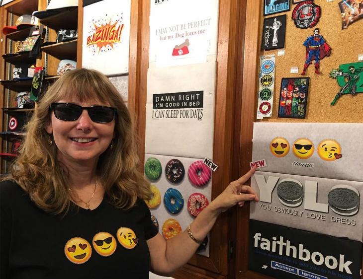 Sunglasses Emoji T Shirt