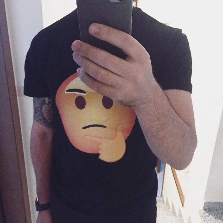 Vintage Emoji T Shirt