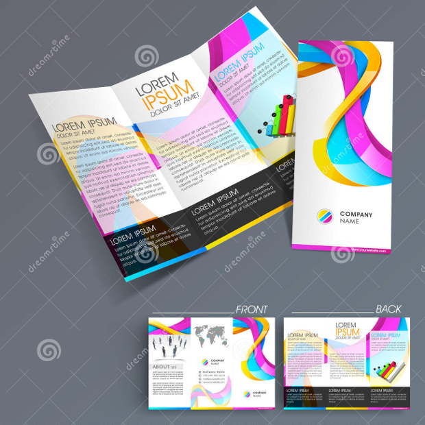 Professional Business Three Fold Flyer
