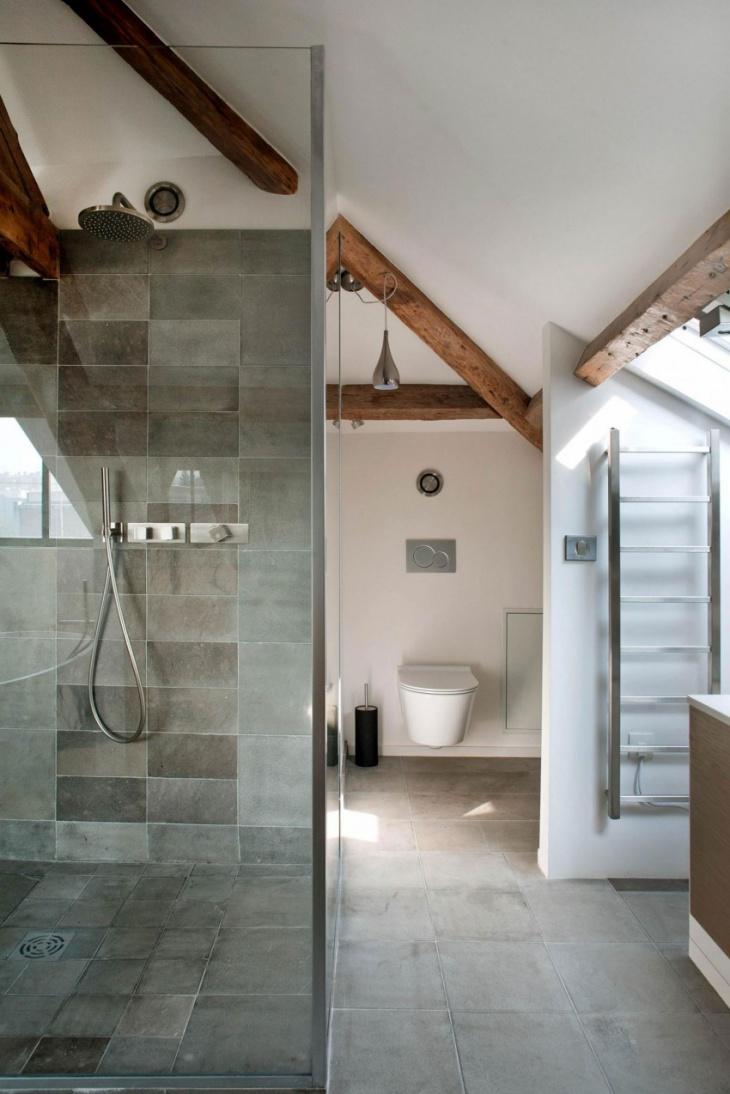 Concrete Shower Tiles
