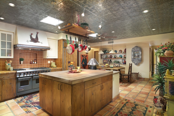 Gourmet Chef S Decorative Kitchen