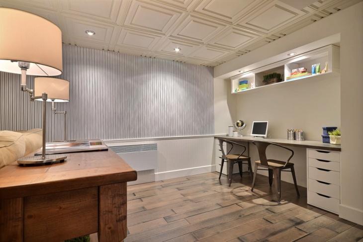 drop ceiling panels idea