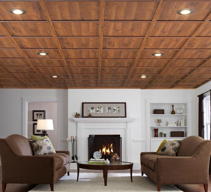 wood ceiling panel design