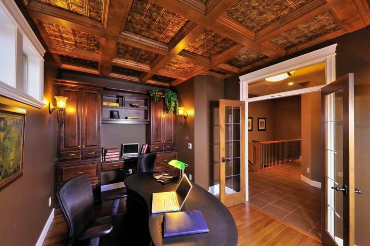 traditional wood ceiling tiles